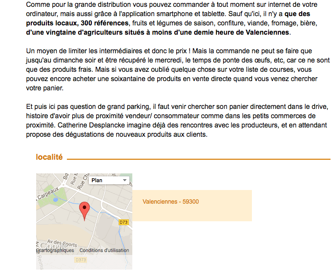 INSOLITE | Un drive fermier à Valenciennes
