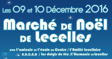 Marché de Noël de Lecelles les vendredi 9 et samedi 10