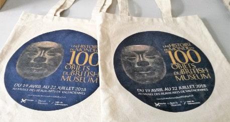 Gagnez votre sac de l'exposition «l'histoire du monde en 100 objets»